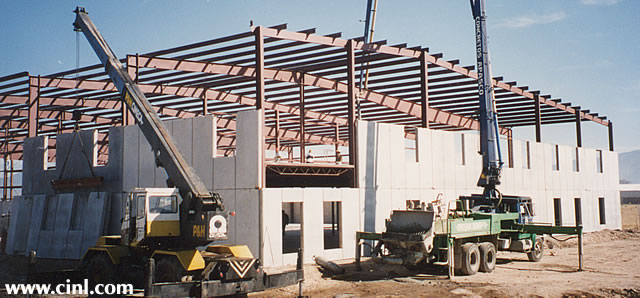 Prefabricated Prefab Concrete Walls : Insulated prefab concrete panel walls