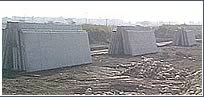 Storage of precast Panel Walls for Regio Park Spec 72 Building